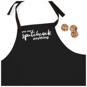 You Enjoy My Vegan shop selling Phish merchandise, including hoodies and this spatchcock apron