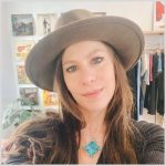 Sarah, creator of Rose & Bolt jewelry, selling certified Grateful Dead jewelry