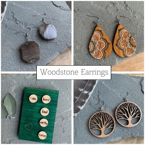 Woodstone Earrings
