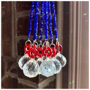 Four Winds Handmade Goods offers glass prism suncatchers, rainbow suncatchers, jewelry and more.